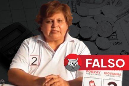 [FALSO] Giovanna Aranibar: Arequipa produce (tributa) un 80% y Estado devuelve solo 20%