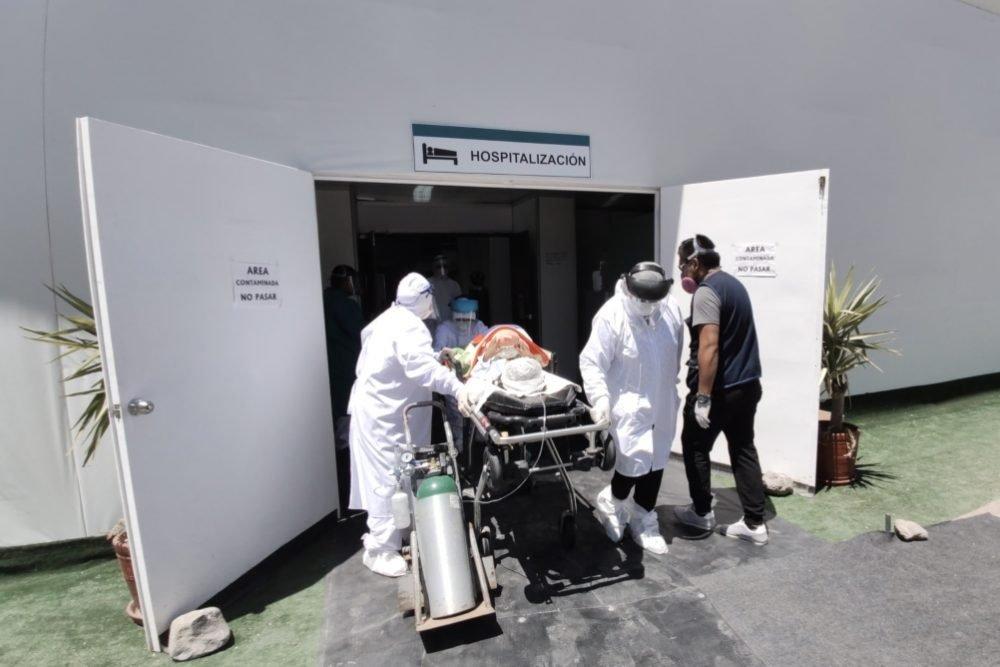 Arequipa: drama en la puerta del hospital