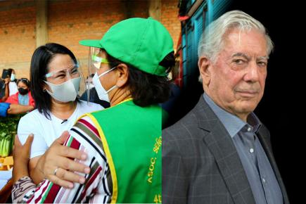"""Vargas Llosa reitera apoyo a Keiko Fujimori: """"Que el país no se vaya a la catástrofe"""""""