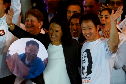Kenji Fujimori reaparece: ¡Todos somos Keiko! (VIDEO)