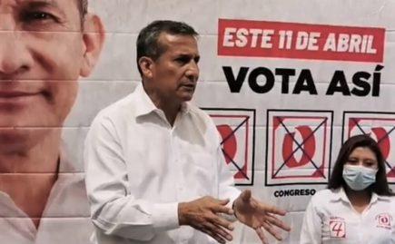 Ollanta Humala: relevo de Sagasti debe ser inmediato, por incapacidad de gestión