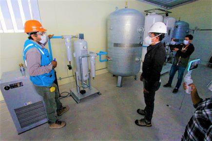 Arequipa: en 6 días planta de oxígeno de Majes entrará en funcionamiento