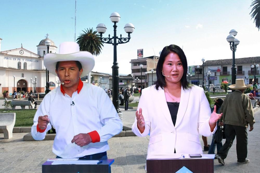 Chota, lugar donde se realizará el debate entre Keiko Fujimori y Pedro Castillo