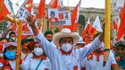 Perú Libre no tiene listas para congresistas en algunas regiones del país