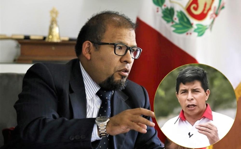 Omar Candia sobre Pedro Castillo en Elecciones 2021.