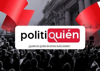 Politiquién: conoce en esta plataforma quién es quién, entre los candidatos de Elecciones 2021