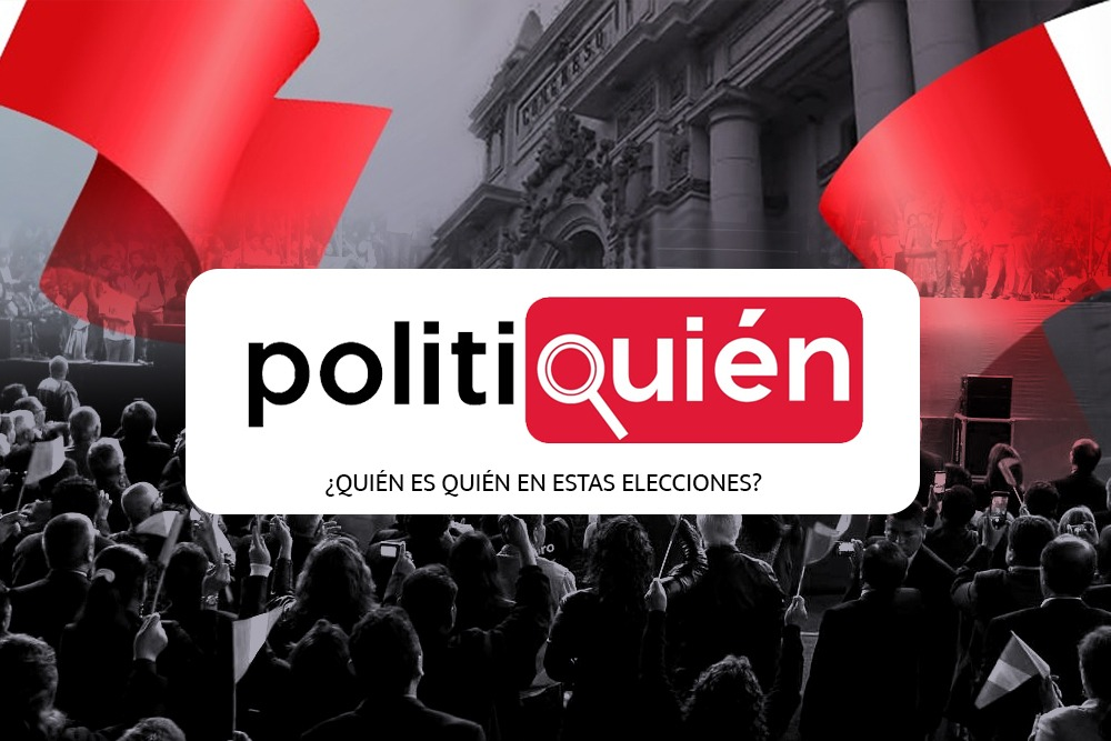 Politiquién, plataforma para Elecciones 2021.