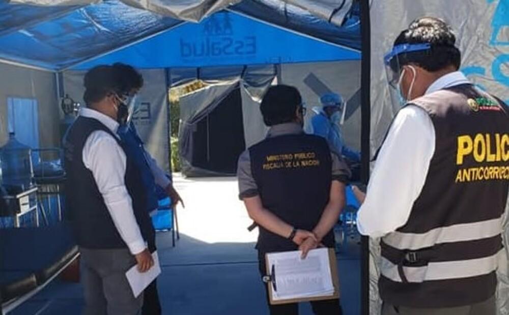 Fiscalía intervendrá en vacunación contra covid-19 en Arequipa.