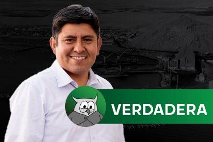 [VERDADERO] Construcción de Puerto de Corío aún no tiene aprobación en el Congreso