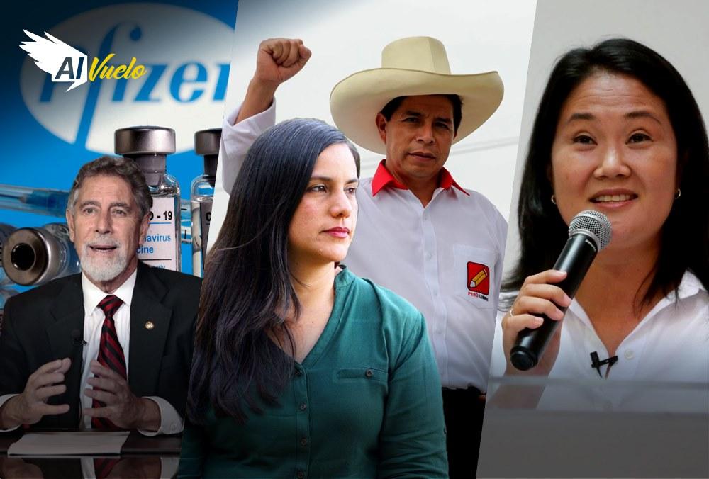 Pedro Castillo verónika mendoza acuerdo keiko fujimori noticias