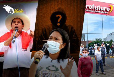 """Pedro Castillo: """"La única vocería en esta campaña es mi persona""""    Al Vuelo"""