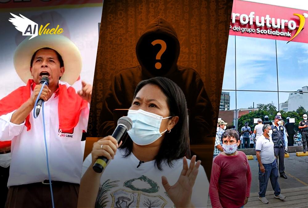 Pedro Castillo Keiko Fujimori