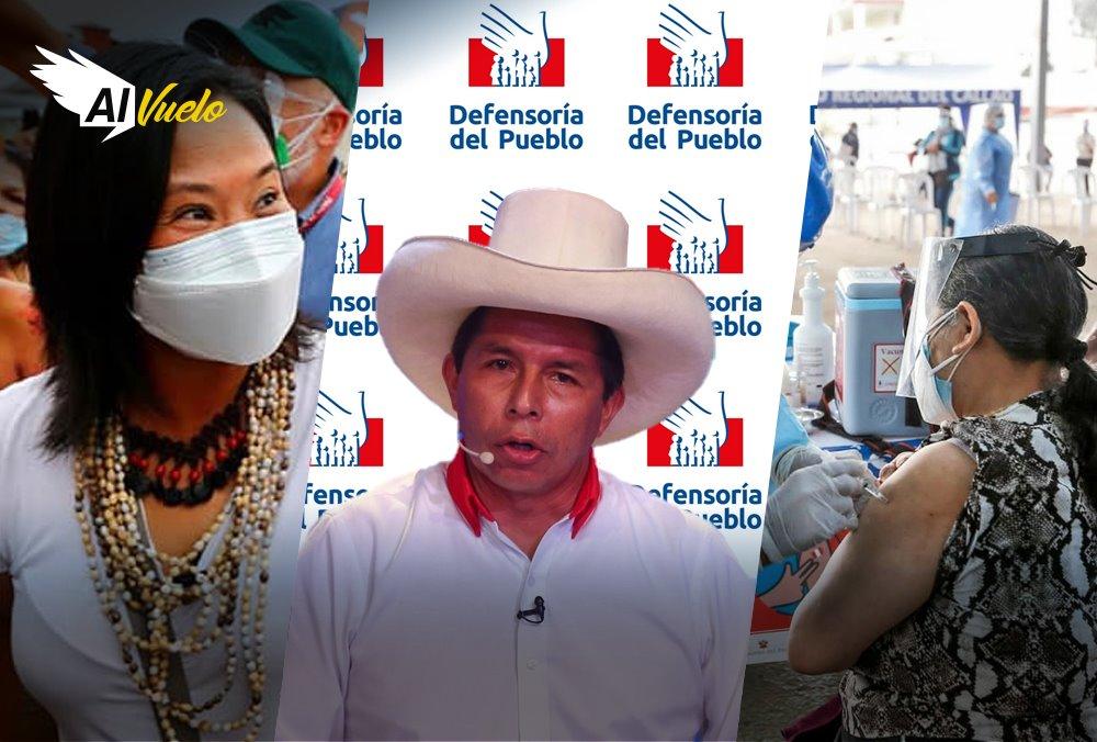 Pedro Castillo Keiko Fujimori coroanvirus Arequipa