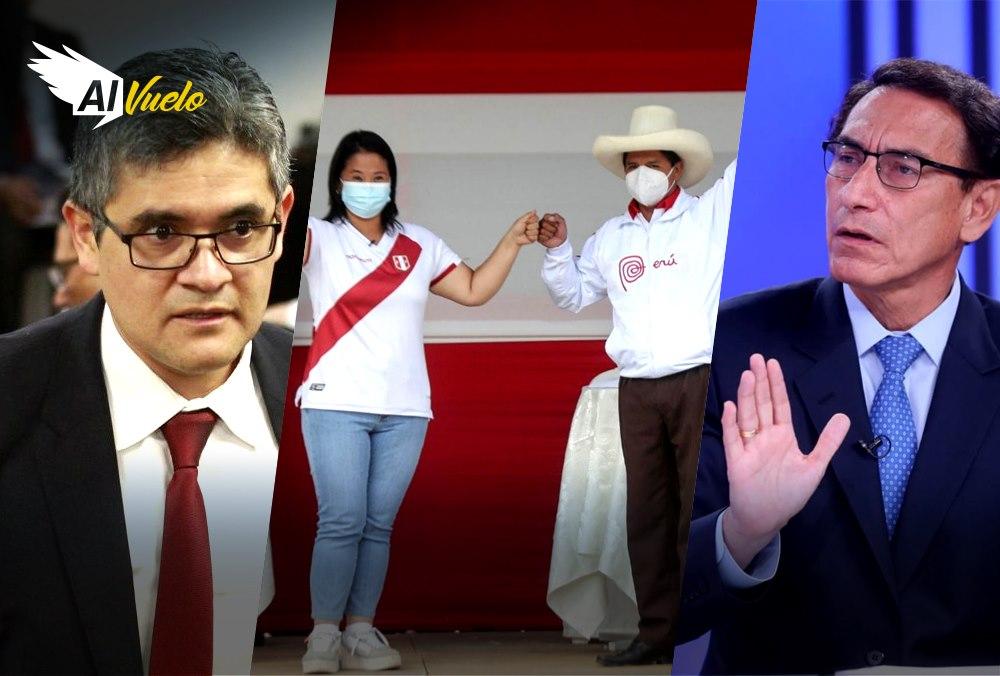 debate presidencial keiko fujimori pedro castillo vizcarra