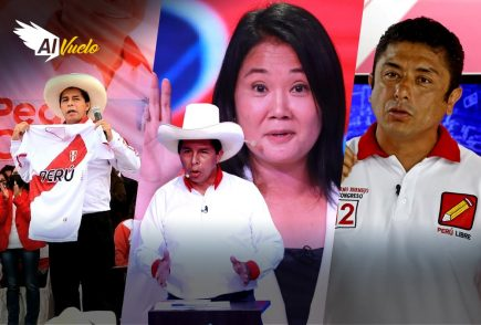 Keiko Fujimori Pedro castillo debate equipo bermejo