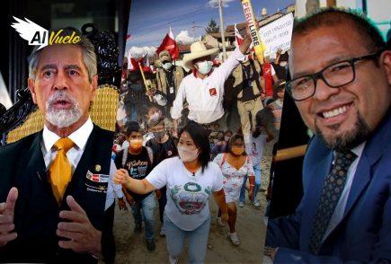 Bruce y Rospigliosi de vuelta a la política en debate |  Al Vuelo