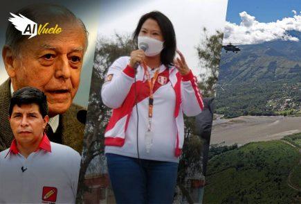 Keiko Fujimori suspendió viaje a Puno por rechazo popular  |  Al Vuelo