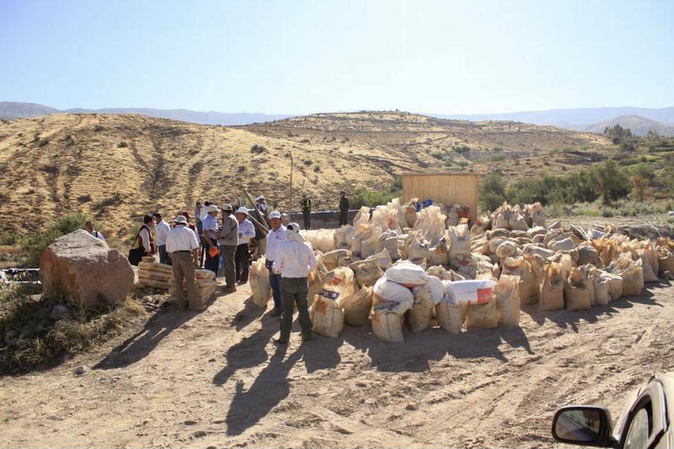 arequipa relaves mineros terreno agrícola