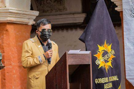 """Elmer Cáceres Llica: """"En comparación con otras regiones, Arequipa está conteniendo (la pandemia)"""""""