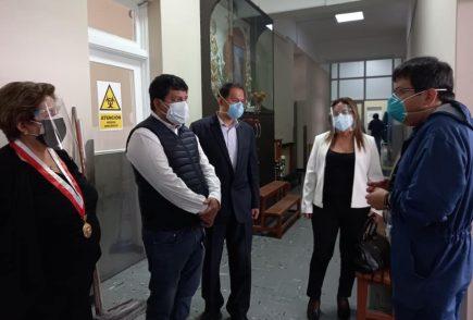 Arequipa: comisión Covid-19 del Congreso hace reparos al debate presidencial