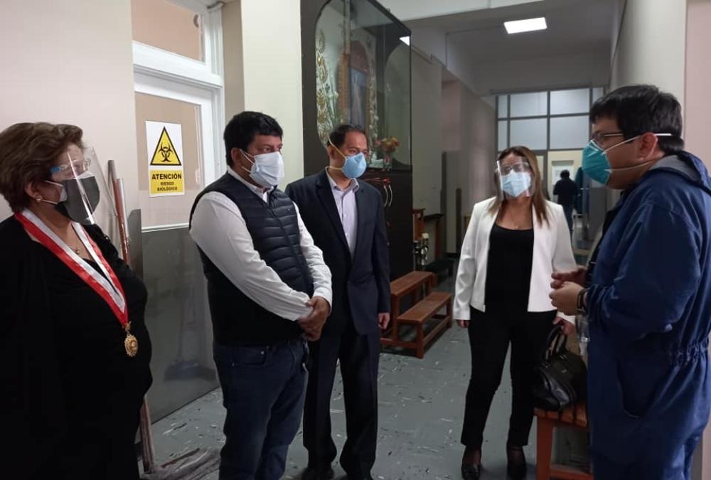 Arequipa: comisión Covid-19 del Congreso hace reparos sobre debate presidencial
