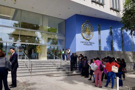 Arequipa: Ministerio Público será más riguroso con las denuncias que se admiten a trámite