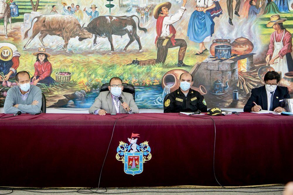 autoridades arequipa debate presidencial