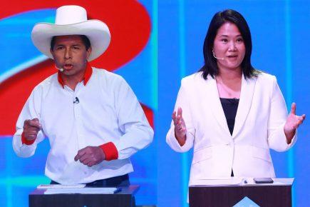 Cinco temas tendrá el debate entre Pedro Castillo y Keiko Fujimori en Chota