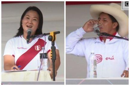 Keiko Fujimori a Pedro Castillo: responda por la corrupción en Junín