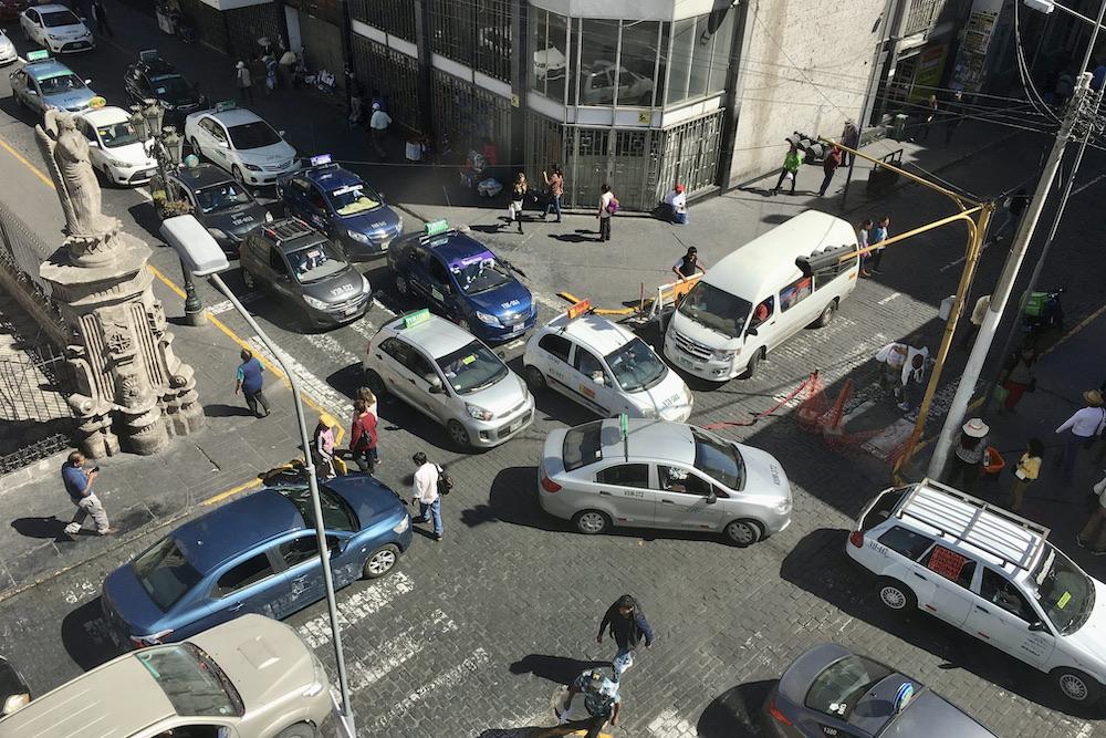 arequipa congestión vehicular autoridades
