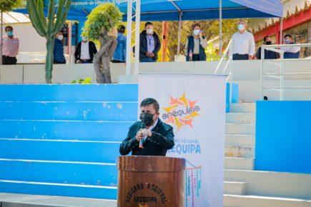 """Gobernador de Arequipa: """"no se va a permitir mítines de Castillo y Keiko"""""""