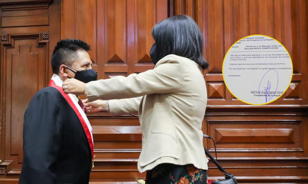 Héctor Arias, representante en el Congreso, por Arequipa.