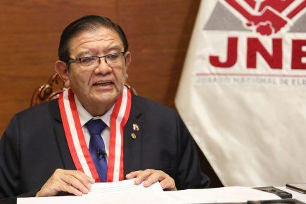 Magistrados rechazan campaña de desprestigio contra Presidente JNE