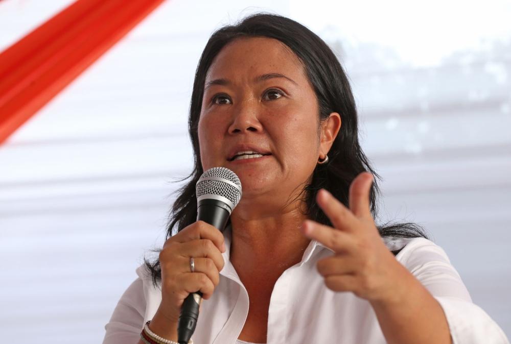 Keiko Fujimori llegará a Arequipa dos días antes del debate con Pedro Castillo