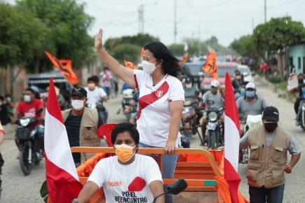 Keiko Fujimori suspende su visita a Puno ante demostraciones de rechazo