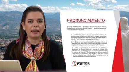 """Indignación en Huanta por vinculación de canción """"Flor de Retama"""" a Sendero"""
