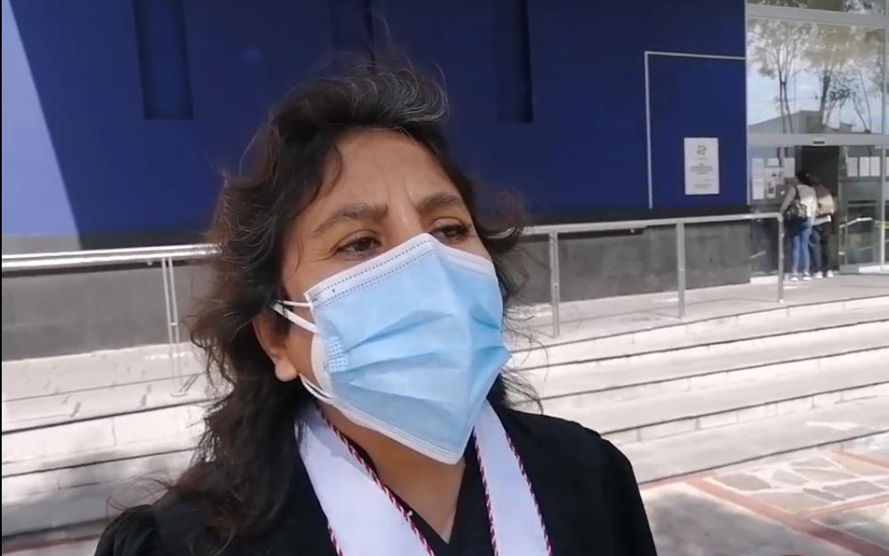La Fiscal Provincial, Esther De Amat Loza, sobre marchas en Arequipa, ante debate.