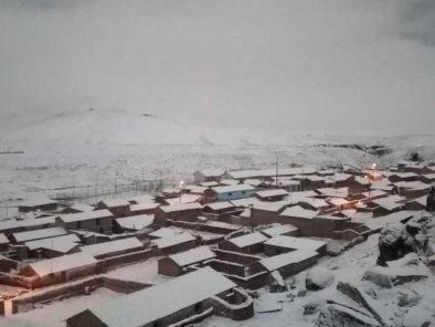 Arequipa: COER presenta plan de contingencia para distritos afectados por friaje