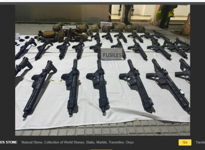 Es falsa imagen sobre presunto hallazgo de armas de guerra en casas de Lima