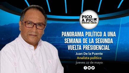 Pico a Pico: el panorama político en la recta final de la segunda vuelta presidencial