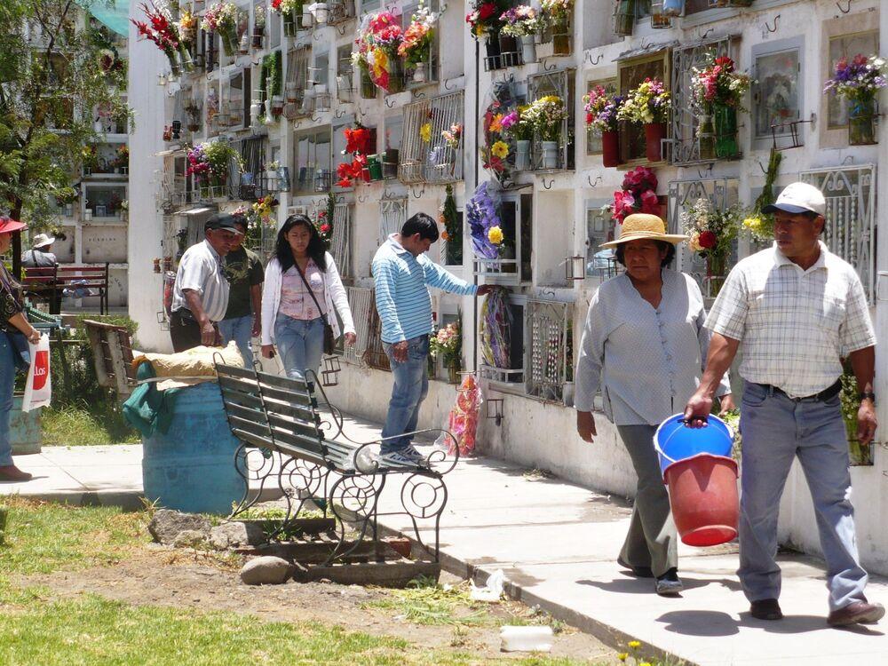Cementerio la Apacheta en Arequipa.