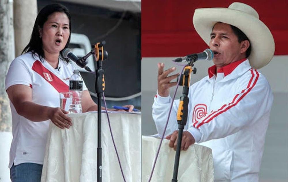 Debate presidencia en duda, en Arequipa, entre Keiko Fujimori y Pedro Castillo.