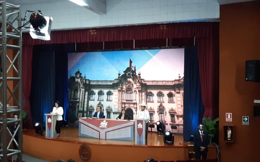 Arequipa, escenario del último debate entre Keiko Fujimori y Pedro Castillo