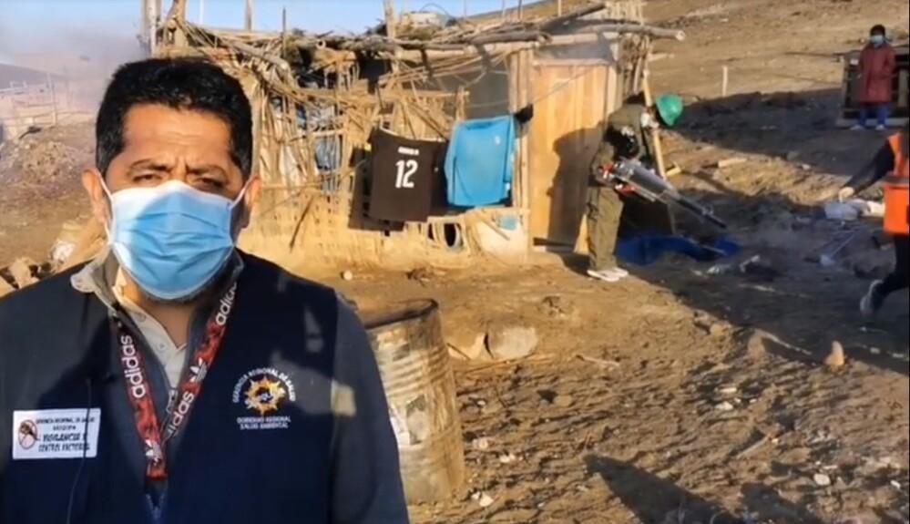 Fumigación en Arequipa por casos de dengue.