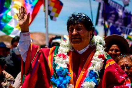 Evo Morales llegará al Perú en medio de la contienda electoral