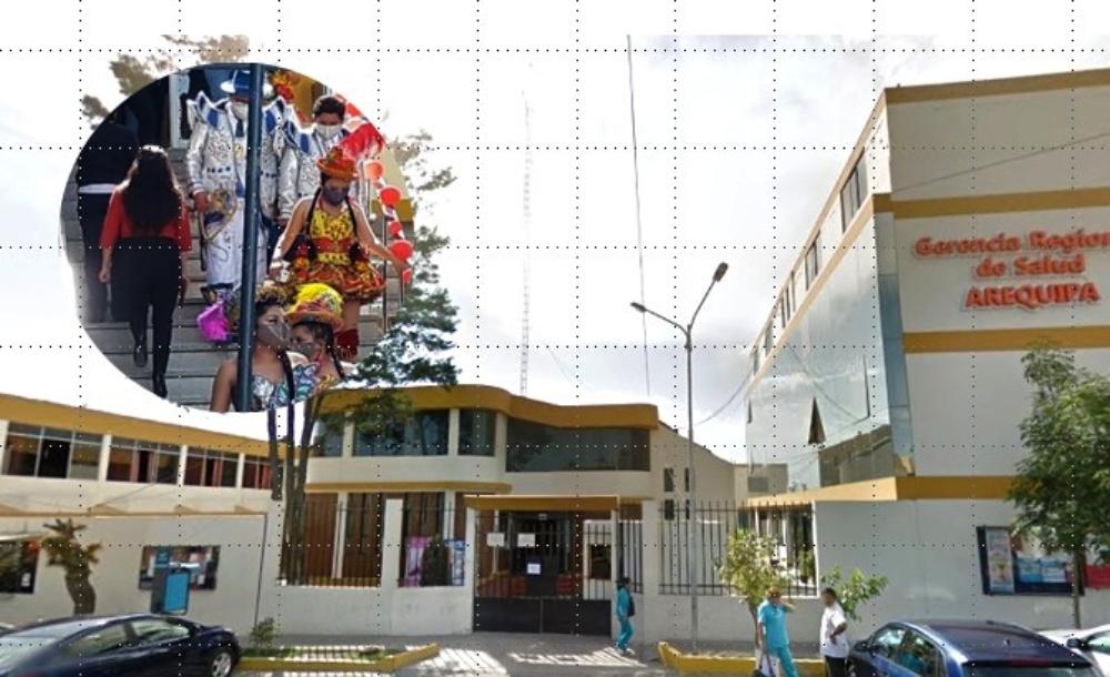 Arequipa: Gerencia de Salud rompe protocolo y hace agasajo dentro de institución
