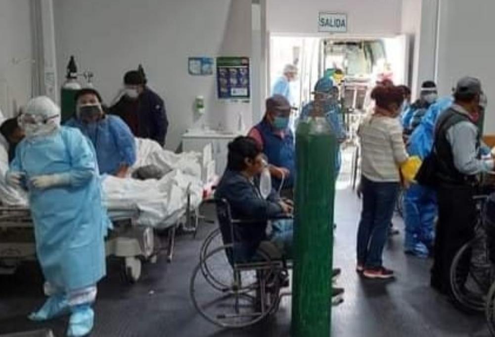 Hospital covid Arequipa se queda sin camas disponibles