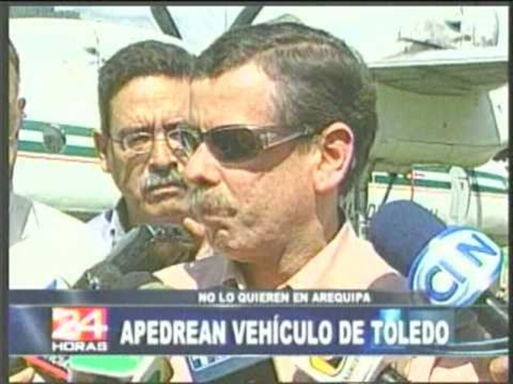 Fernando Rospigliosi no gozó de mucha popularodad durante se época como ministro del Interior en 2002