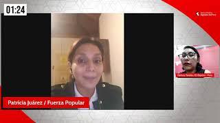 Entrevista a Patricia Juárez, candidata a segunda vicepresidenta de Keiko Fujimori