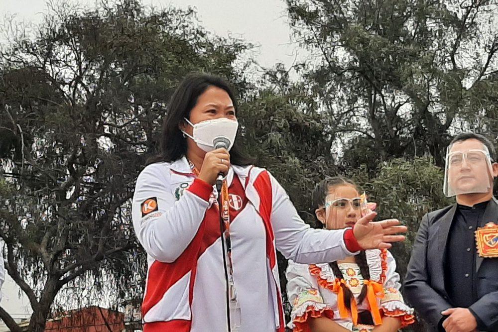 Keiko en Arequipa